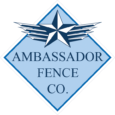 Ambassador Fence Logo