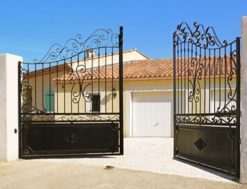 Automatic Security Gates for Curb Appeal, Privacy and Security