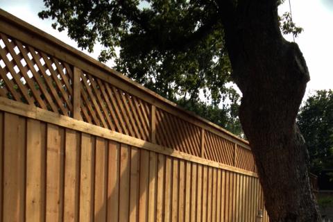 fence design dallas